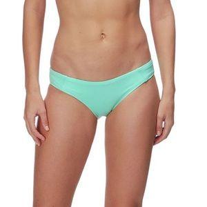 Patagonia W's Solid Teal Sunamee Bikini Bottoms